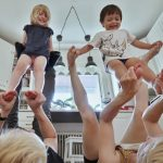 Eltern-Kind-Tanz.